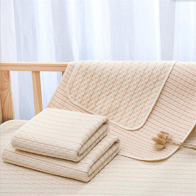 Strong Absorbent&Breathable Changing Pads Reusable Waterproof Mattress Pad Urine Pad Washable Baby Diaper Changing Mat