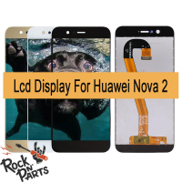 5'' For HUAWEI Nova 2 LCD Display Touch Screen Assembly Replacement with frame PIC AL00 PIC L09 PIC L29 PIC TL00 PIC LX9