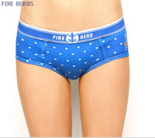 PINK HEROES New Hot Cotton best quality Underwear Women sexy panties Casual Intimates female Briefs Cute Lingerie 602