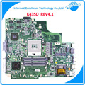 X43s a43sd madre del ordenador portátil para asus k43sd rev 4.1 placa base no integrada 100% prueba mainboard notebook
