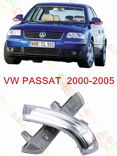 For <font><b>Volkswagen</b></font> <font><b>VW</b></font> <font><b>Passat</b></font> B5 2000-<font><b>2005</b></font> Led Car Styling Side Mirror With Indicator Turn Signals Lights 1K0 949 101/102