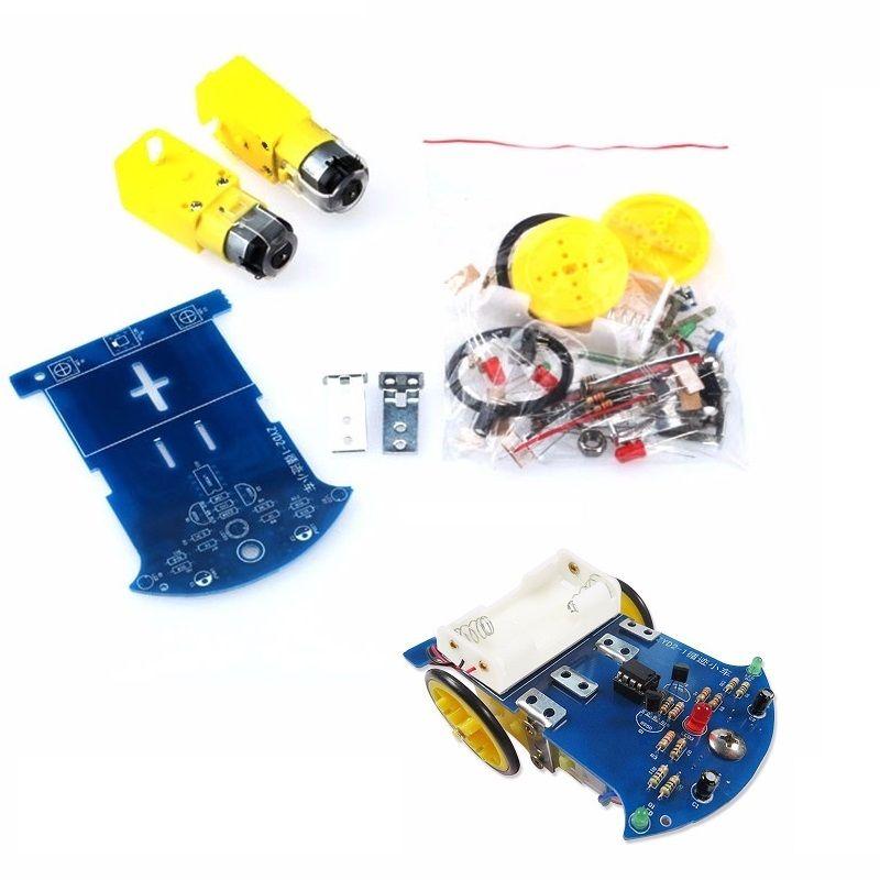 1 Unidades Rastreo Inteligente Smart Car Chassis Kit Rastro Pista Inteligente Lí