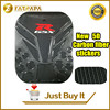New Motorcycle 3D Carbon Fiber Tank Fish Bone Decoration Stickers Fit For Suzuki GSXR600 Gsxr750 Gsxr1000