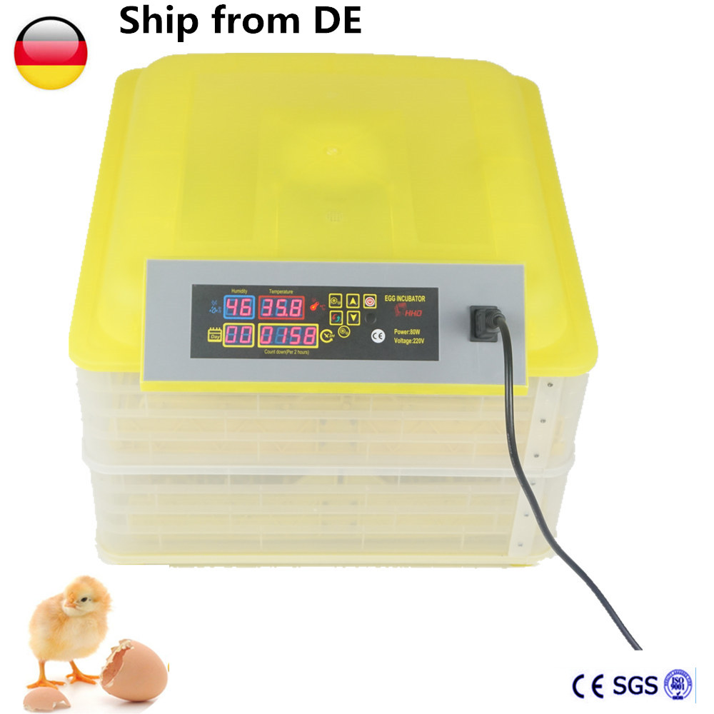Home Use Mini Automatic Egg Incubator 96 Egg Chicken Duck Incubator Brooder Poultry Incubator Machine top selling automatic egg incubator mini 48 egg incubator for sale