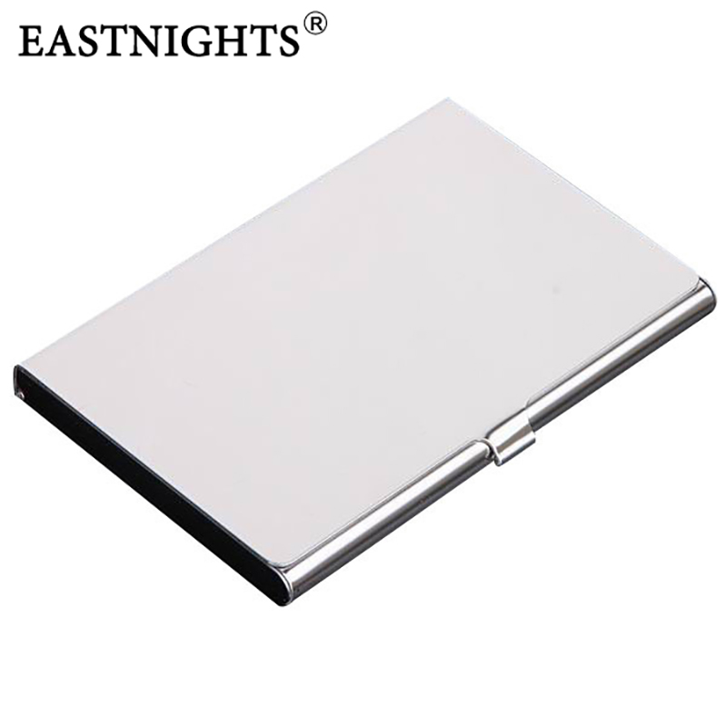 wholesale 10pcs/lot Factory Sale Stainless Steel Name Card Case ...