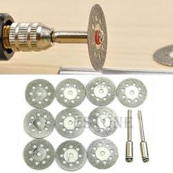 Новый Ротари инструмент Дисковые пилы отрезные колесные диски сердечник Dremel среза 22 мм R06 Прямая поставка