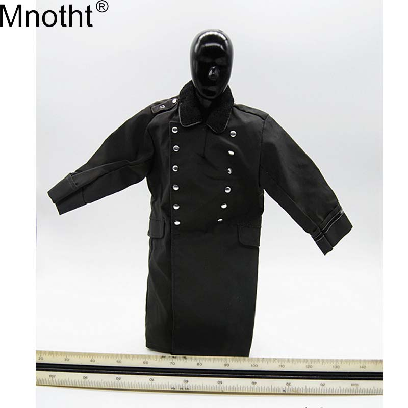 Mnotht Coat Clothes-Accessory Soldier Action-Figure Long-Sleeve Black Male Rainproof