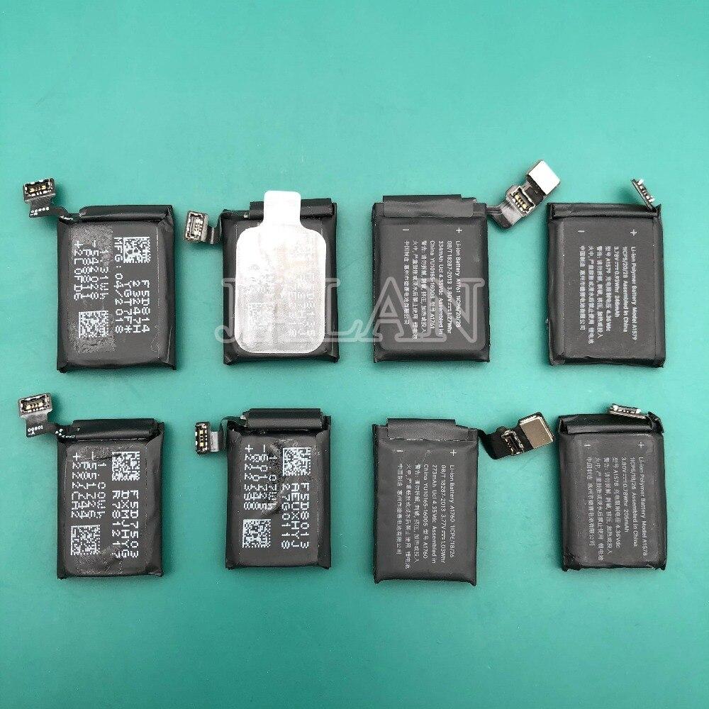 Batería Original para Apple watch Series 4, A2058, A2059, 40mm, 44mm, 291,8 mAh, 224,9 mAh, reparación de reemplazo de baterías reales 1 Uds.