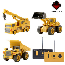 Impulls Mini RC Truck Rc Hydraulic Excavator Remote Control Car Crawler Educational Toys Toddler Toys for Boys for Children FSWB large 11 channels rc excavator rc car remote control toys car electric excavator charging electric vehicle toys for kids boys