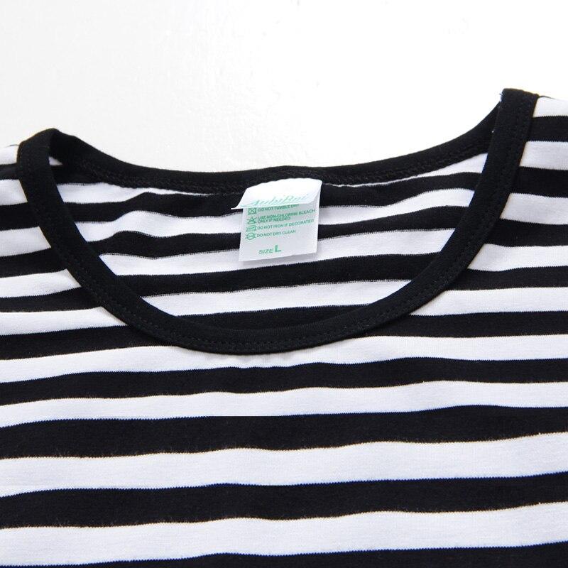 c680fa9ab8b Men T Shirts Fashion 2015 Marine Style Striped T Shirt Casual Navy blue Red  Black and white striped Streetwear Rock T Shirt on Aliexpress.com
