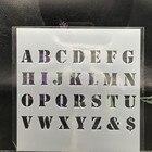 15cm Alphabet Upperc...