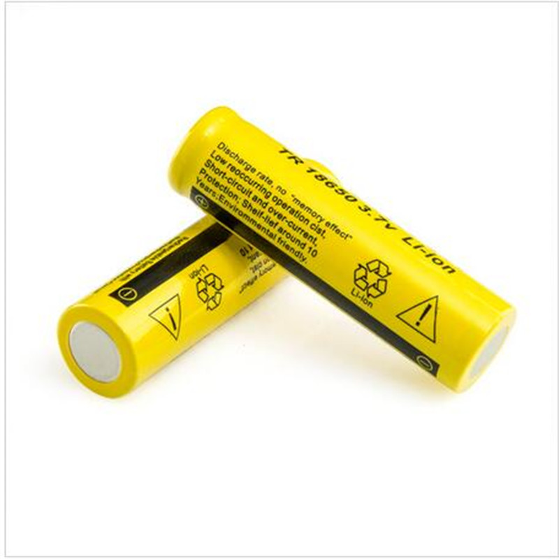 4X 18650 High performance 18650 3.7V 9800mAh Rechargeable Battery 18650 li-ion Battery — Free shipping