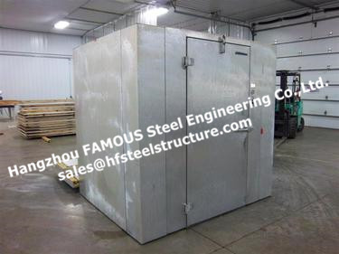 Chinese Commercial Walk In Freezer And Industrial Blast Freezers Made Of PU Sandwich Panels Width 1150mm For Keep Food Fresh