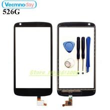 """Vecmnoday высокое качество 4.7 """"для HTC Desire 526 526 г Сенсорный экран планшета Сенсор Стекло объектив Панель черный"""