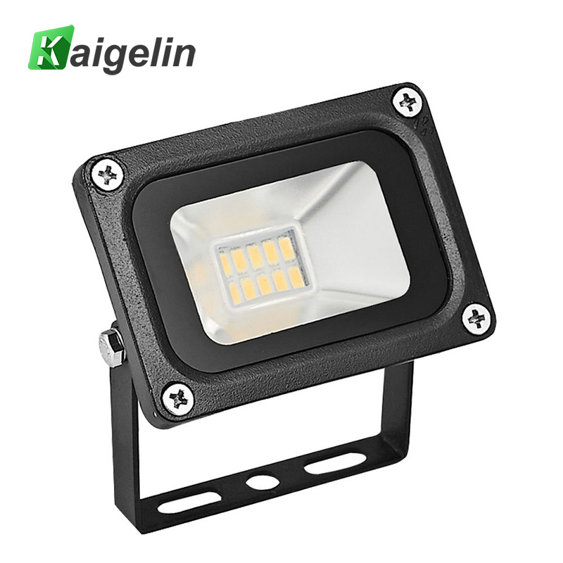 Kaigelin 10W LED Flood Light 220-240V 1100LM Ip65 Waterproof LED Floodlight SMD5730 LED Spotlight For Outdoor Garden Lighting