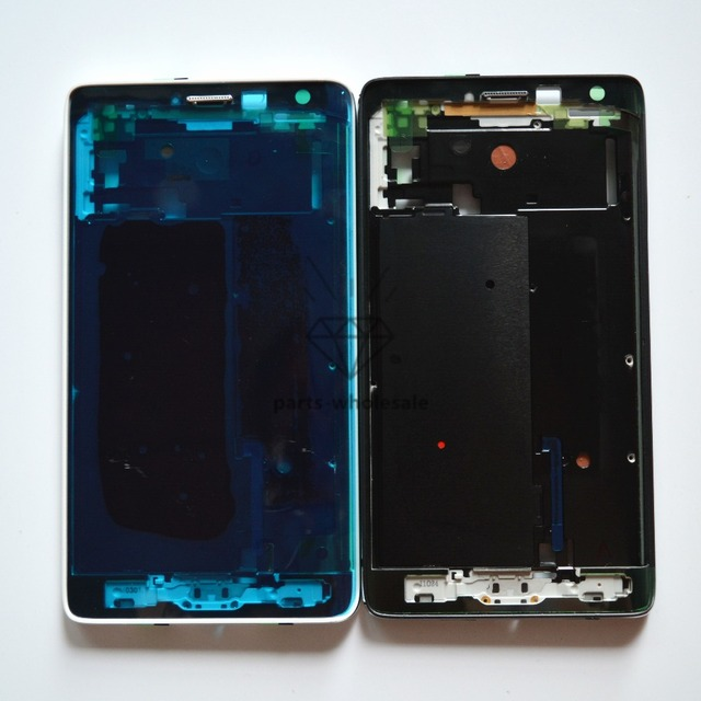 Front Housing LCD Frame Bezel Plate Replacement for Samsung Galaxy Note Edge / N915
