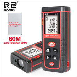RZ RZ-S40 40M 60M 80M 100M Laser Distance Meter Rangefinder Range Finder Electronic Ruler Digital Tape Measure Area Volume Tool