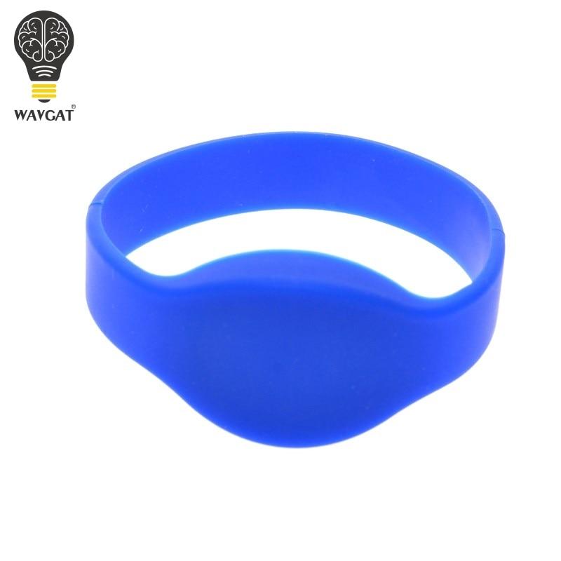 WAVGAT RFID Wristband Classic 125 khz EM4100/TK4100 watch Silicone Wristband Bracelet Access Control Cards ...