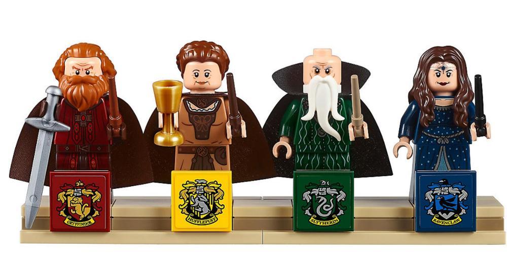 Poudlard château Harri Potter magique modèle 6742 pièces blocs de construction briques jouets compatibles avec Legoings film enfants cadeau - 4