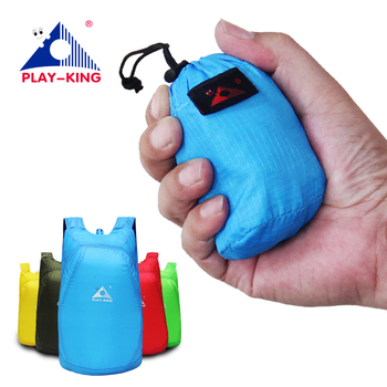 PLAYKING Lightweight Packable Backpack Foldable ultralight Outdoor Folding Handy Travel Daypack Bag nano daypack for men