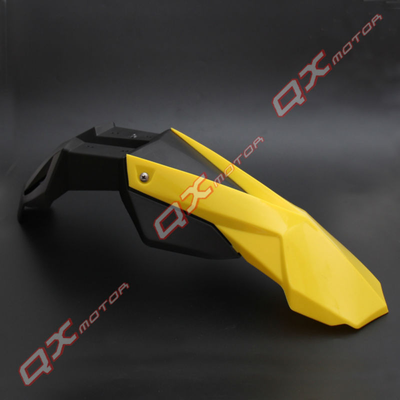 universal dirt bike front fender dirt bike front plastic Off Road Dirt Pit Bike MX Motocross Front mudguard front fender front plastic number plate fender cover fairing for honda crf100 crf80 crf70 xr100 xr80 xr70 style dirt pit bike