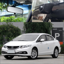 For Honda Civic 2014  APP Control Car Wifi DVR Driving Video Recorder motion detection Car Black Box parking camera night vision