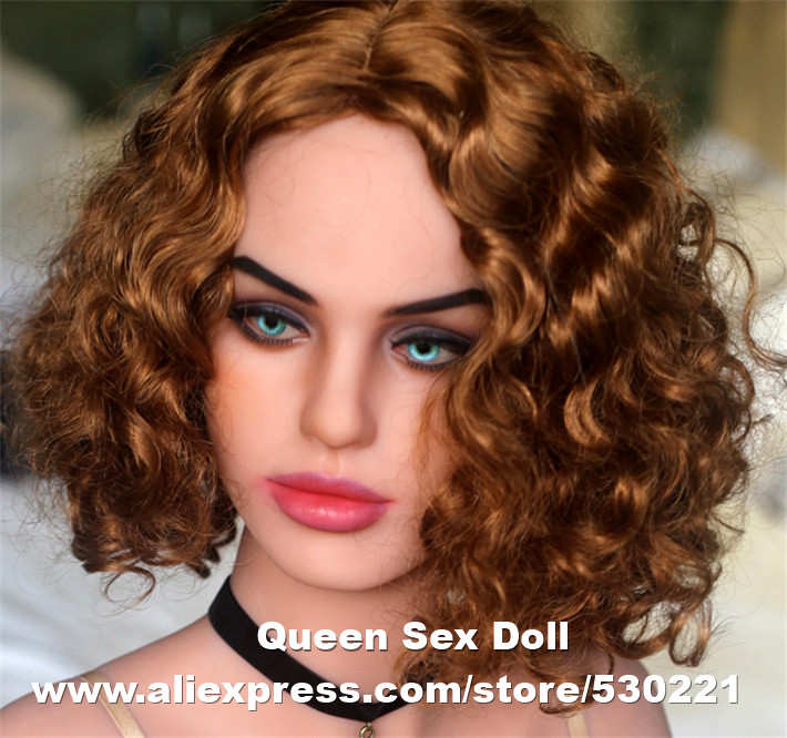 WMDOLL Top quality TPE sex doll head, Tan skin adult dolls head for solid love doll, oral sex toy for men wmdoll top quality silicone sex doll head for real human dolls real doll adult oral sex toy for men