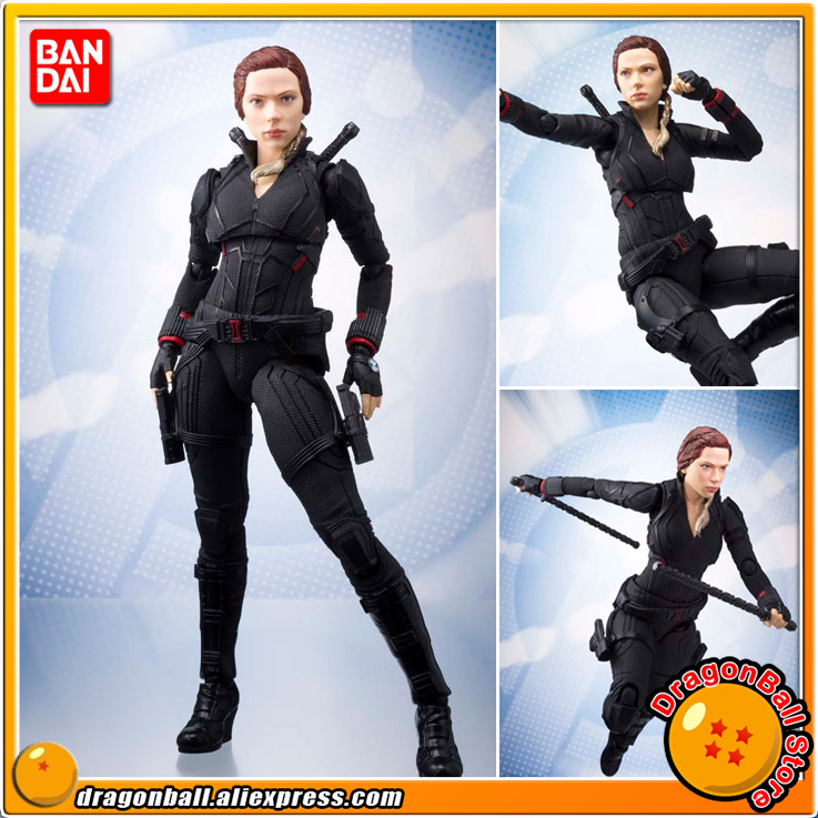 100 Original BANDAI SPIRITS Tamashii Nations S H Figuarts SHF Action Figure Black Widow