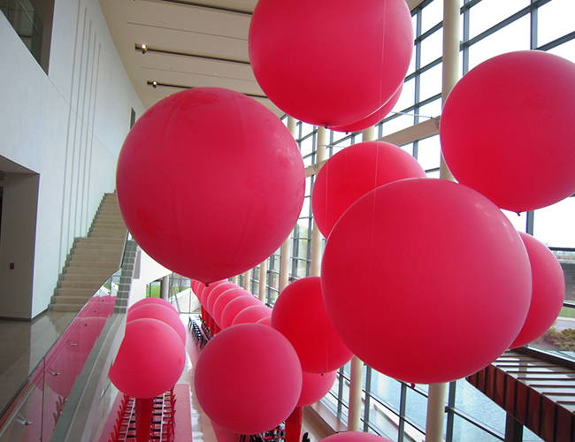 Free Shipping 36 inch Round Bubble Balloons 25g Latex Colorful Giant Balloon Birthday Wedding Party Decorate Balloon balony