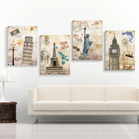 5D DIY Diamond Painting European Classical Building Scenery Diamond Embroidery Statue Of Liberty Cross Stitch Paris