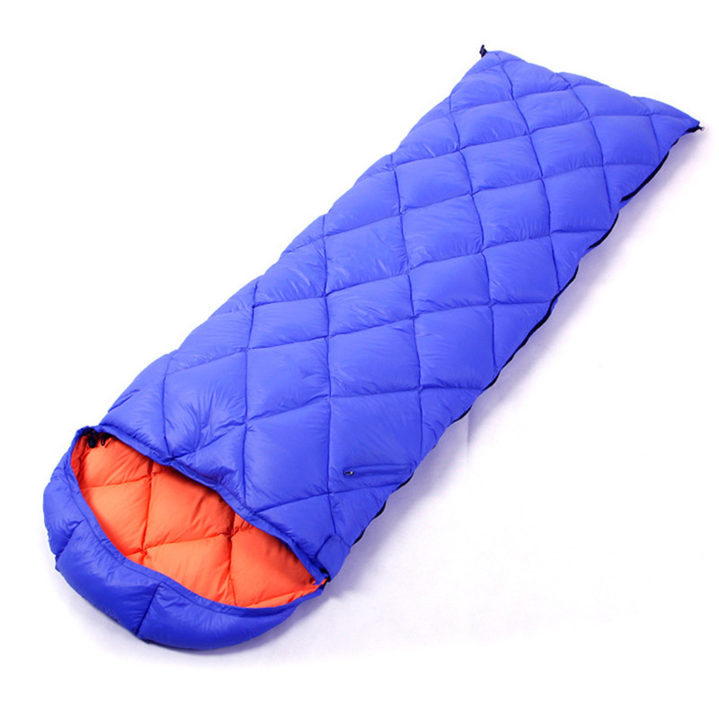 Wnnideo Sleeping Bag Adult Outdoor Down Envelope Lightweight Winter Warm Sleeping Bag Adult Outdoor Camping Sleeping Bag couple double sleeping bag with pillows lightweight outdoor camping tour portable adult lover warm sleeping bag for 3 seasons
