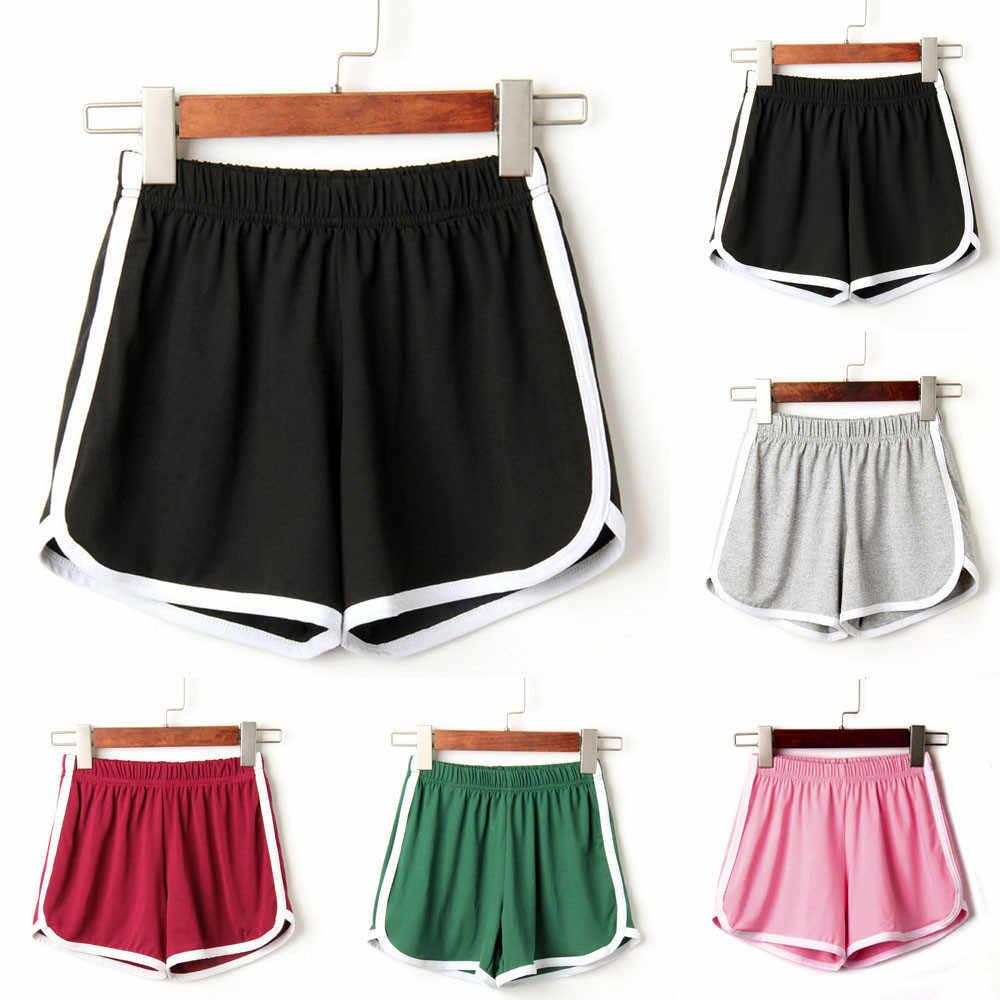 Womail damskie krótkie spodnie moda damska Lady letnie spodenki sportowe krótki nadruk wygodne szorty mujer verano dropship j16