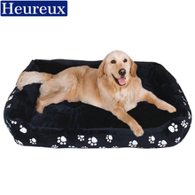 large dog bed   washable thick dog mat