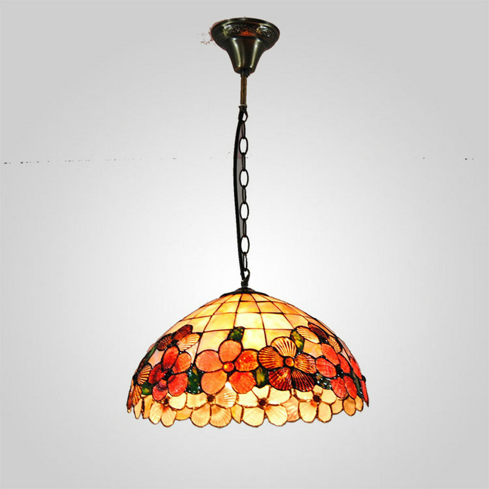 Suspension Tiffany mamei free shipping hot sale 12 inch tiffany suspension light with