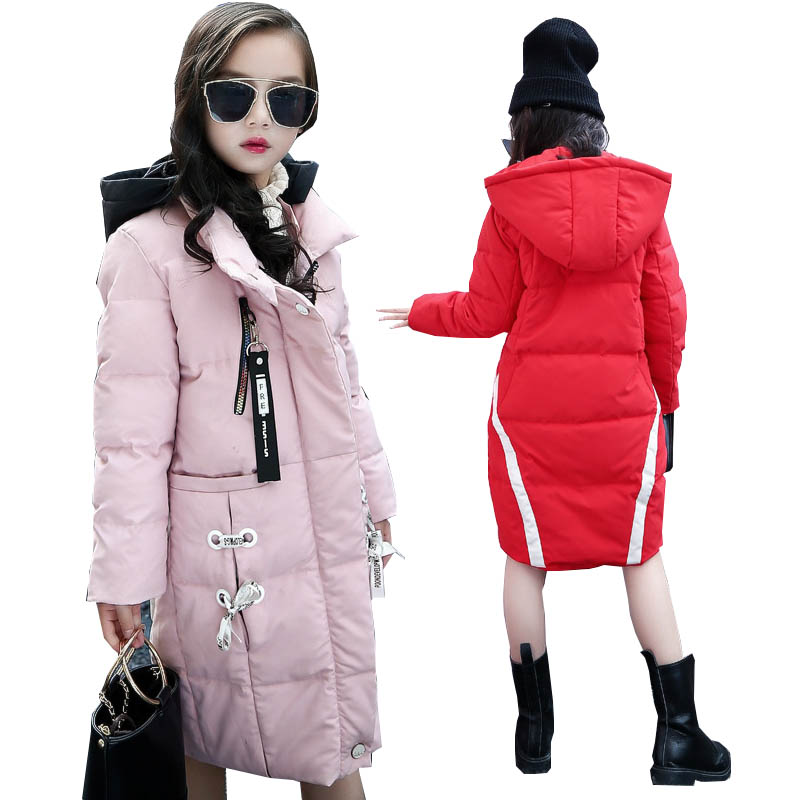 Girls winter coats kids jackets outerwear coats down parkas children winter jackets for girls down coat warm girls Cotton coats