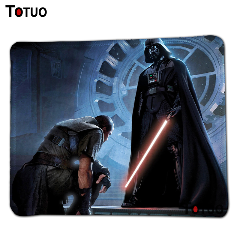 Hot Sale lightsabers darth Fashion Design Computer Rectangular Mouse Pad Durable Gaming Optical Mouse Pads