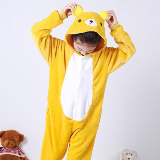 af057344c7e0 Anime cosplay de la historieta pijamas para niños invierno lindo Halloween  animal onesie pijama niño pijama