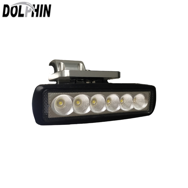12V 18W IN US Spot Light 4 Pack Black Spreader LED Deck//Marine Lights for Boat