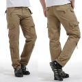 New Men Pants fleece Plus Size Military Men's Pants Brand Designer Straight Pocket Trouse for Men,free shipping