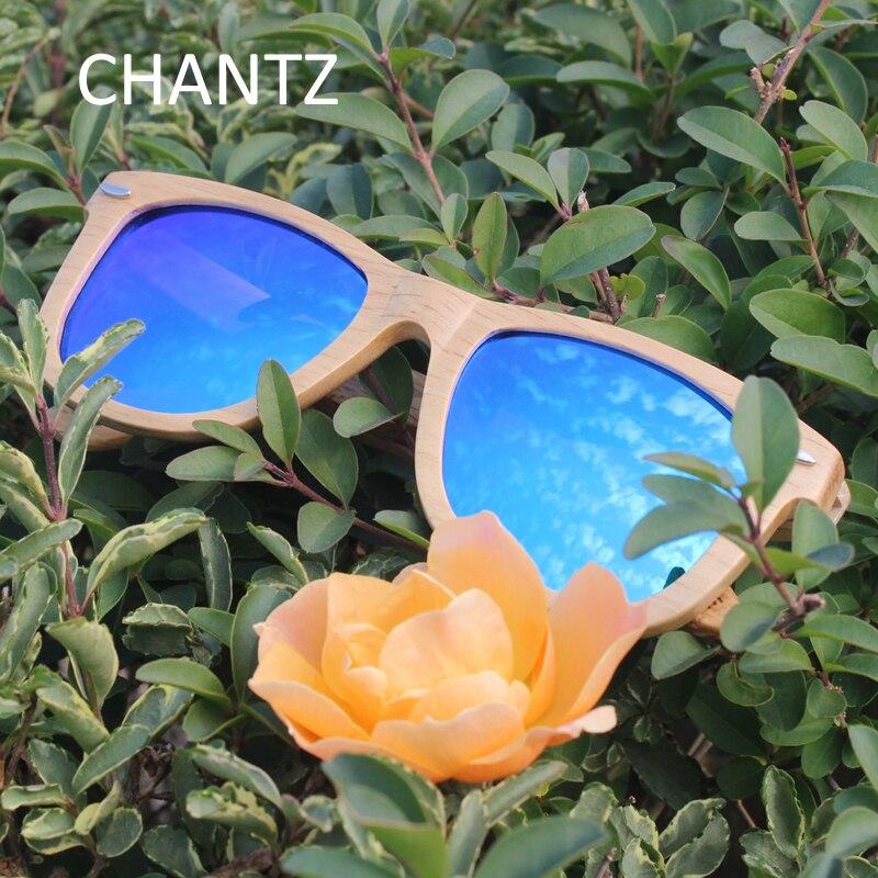 FAIT MAIN unisexe Bois Lunettes de soleil polarisées cadre en bois extérieur rétro lunettes nouveau