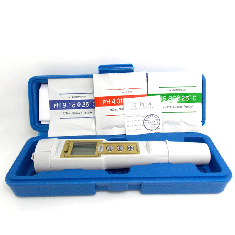 цена 2 in 1 ph meter pH meter and conductivity meter conductivity meter water quality water aquarium detection