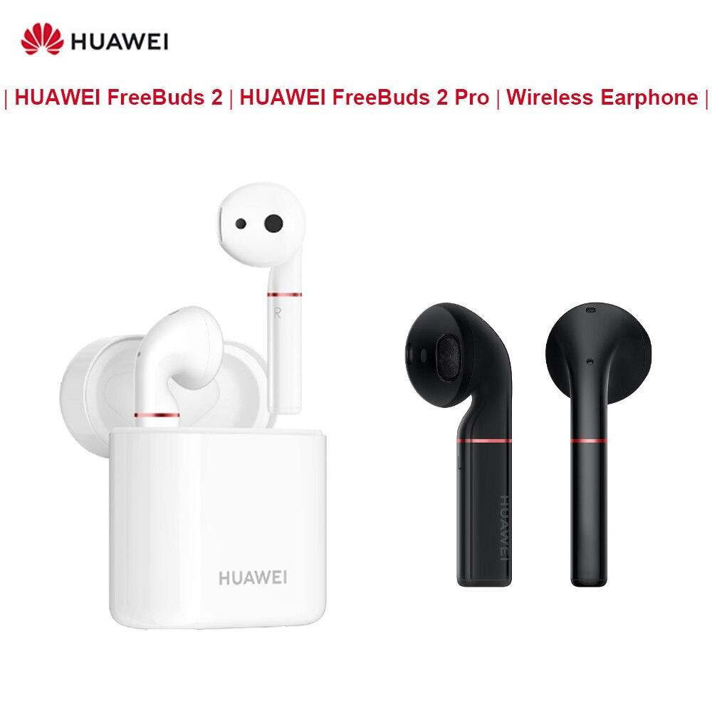 D'origine HUAWEI FreeBuds 2/FreeBuds 2 Pro Bluetooth 5.0 Écouteur Sans Fil avec Micro Musique Stéréo Sport Tactile Casque Écouteurs
