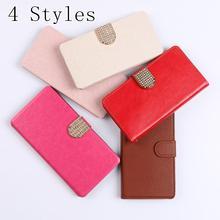 Luxury Wallet Leather Flip Case Cover For Motorola Moto E2 E