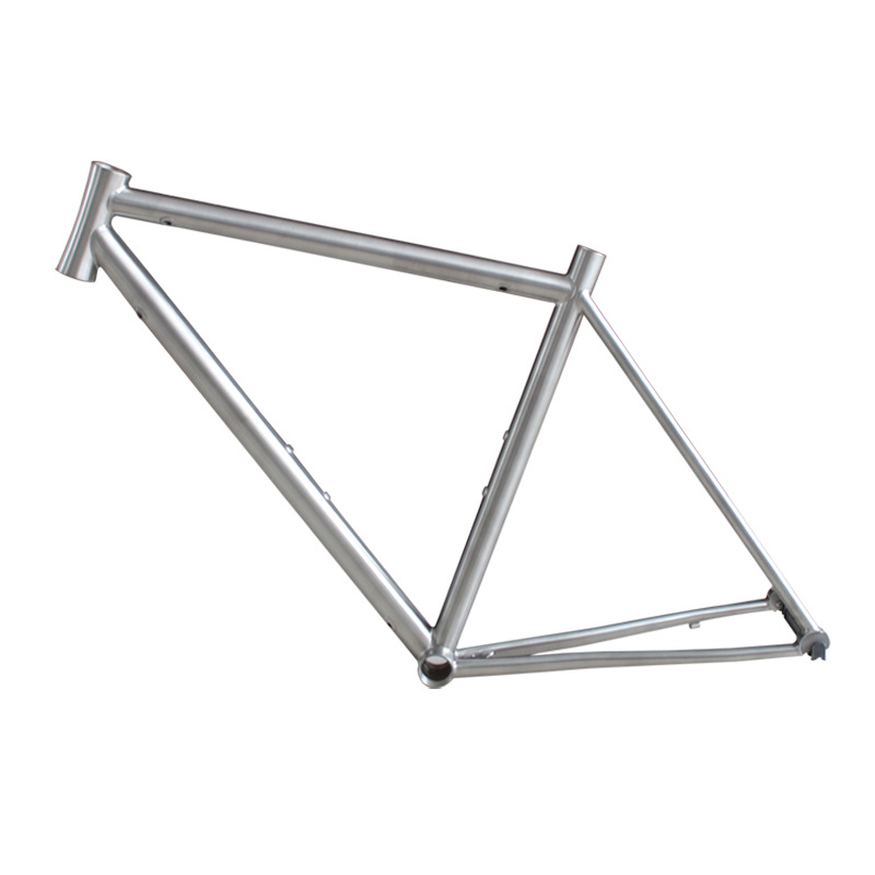 COMEPLAY Customize Road Bike Frame Internal Cable 700C Titanium Bicycle Frame Bike Parts