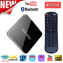 H96 Max X2 Android 8.1 Smart Tv Box 4G 32G Amlogic S905X2 Quad Core BT 4.0 double Wifi 2.4/5.8G Support 4K H.265 décodeur(China)