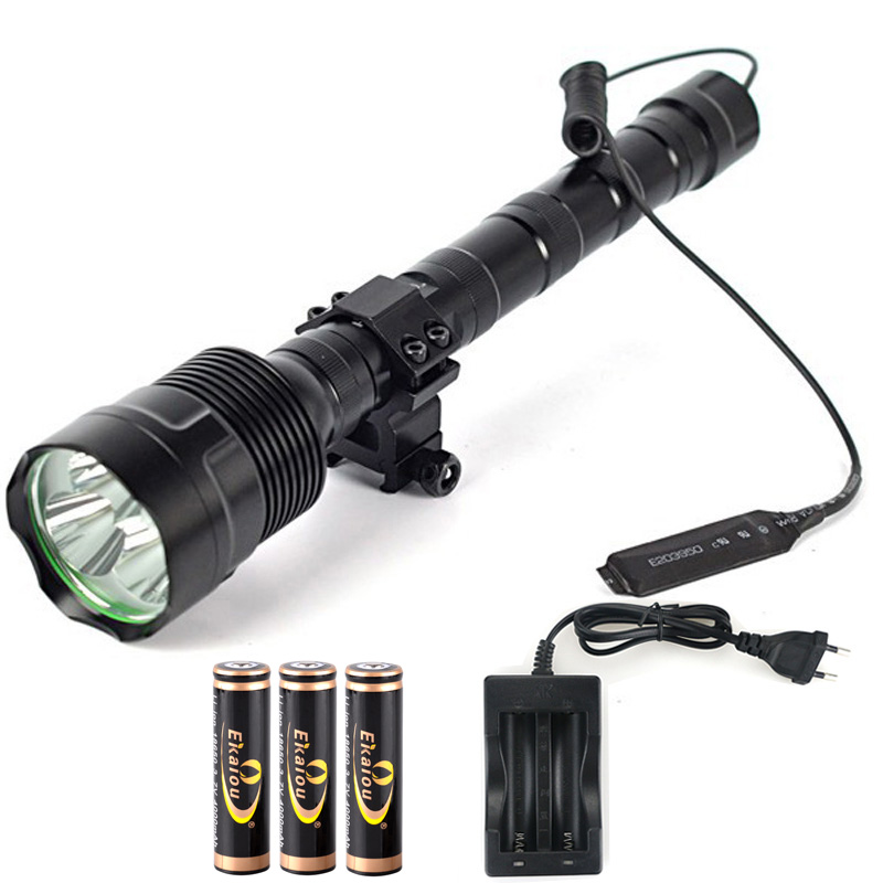 Hot Super Bright TrustFire 3x XM-L L2 LED 3800 Lumens LED Tactical Flashlight 5 Mode Torch