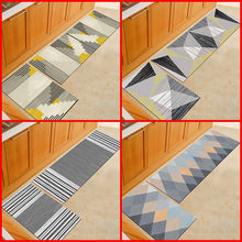 Pink Sketch Plaid Floor Mat Doormat tapete zerbino Oil Absorption Kitchen Mat Capacho Bathroom Bedroom Carpet Front Door Rugs(China)