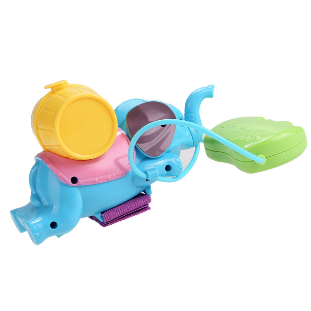 Cute Elephant Shape Water Gun Hot Summer Children Outdoor Water Playing Toy Wrist Mount Toy Gun Kids Bathing Toy