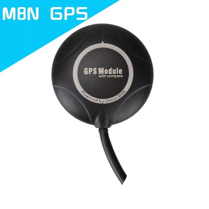 цена на 1pcs Ublox M8N GPS Module Built in Compass High Precision Spare Parts for APM PIXHAWK Mini apm Flight Controller Components