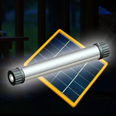 Iluminação multifuncional levou luz de acampamento Solar de emergência ao ar livre